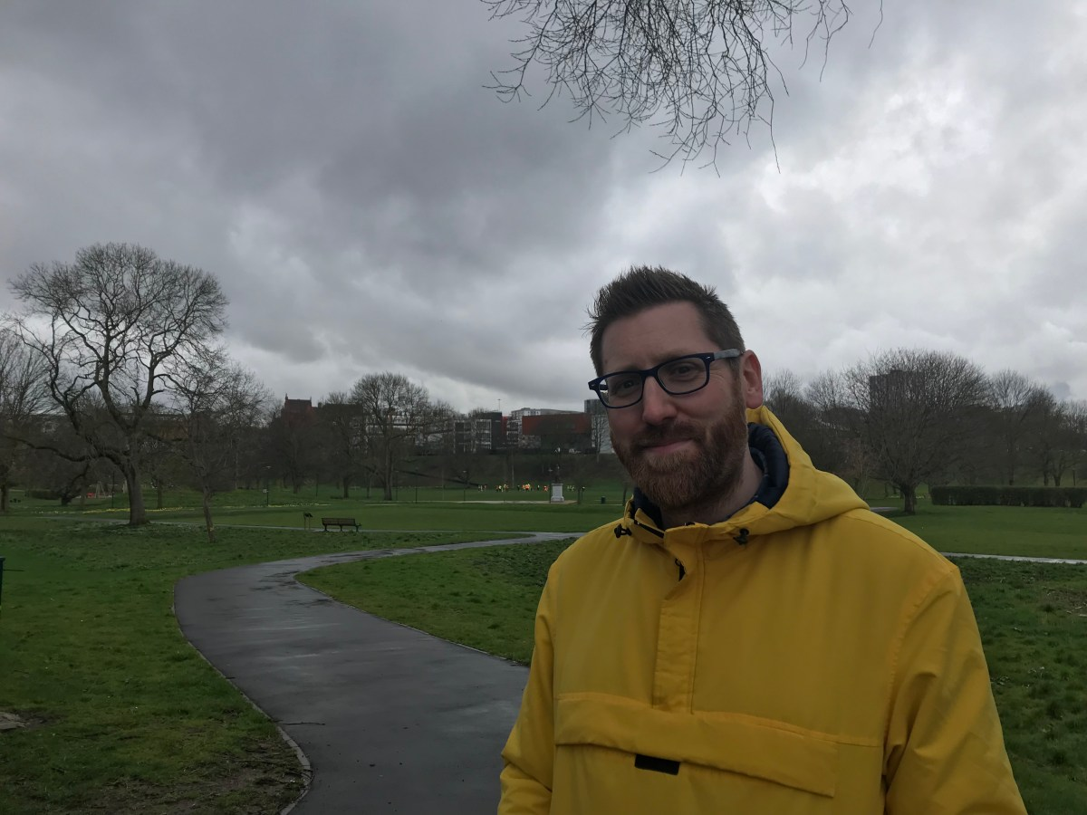 """There's something worth writing about here"" - meet Peel Park's resident writer"